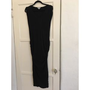 James Perse Black Maxi dress (good for maternity)